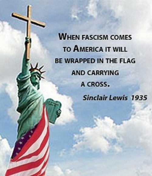 when fascism comes to america   santorum