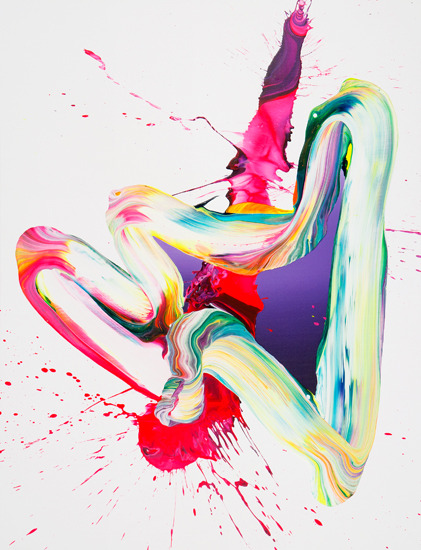 More acrylic gloriosity by YAGO HORTAL