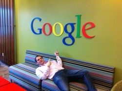 @adamhepton, at Google's 1950 building in Mountain View, CA, USA.