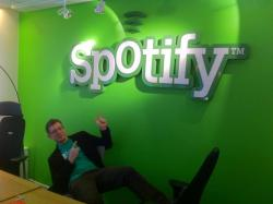 @asmitter, at Spotify in Stockholm, Sweden