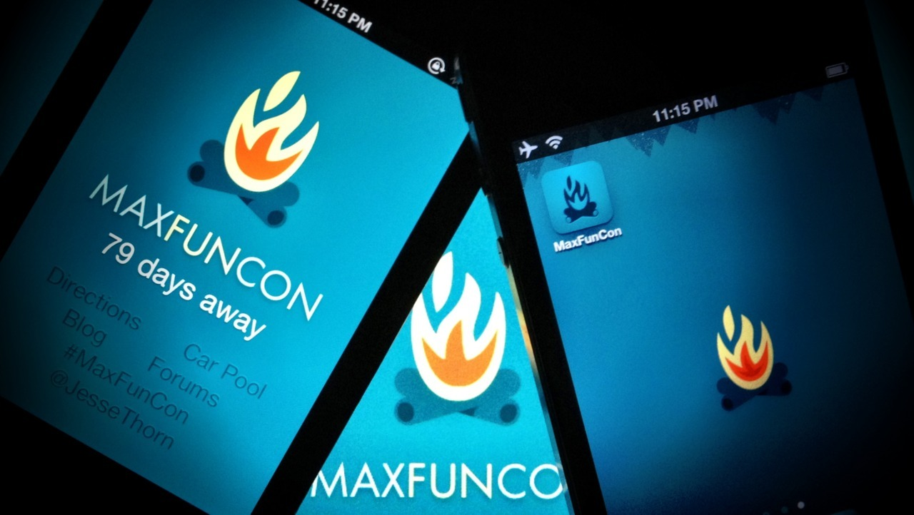 Announcing: The Unofficial MaxFunCon Web App for iPhone and iPad