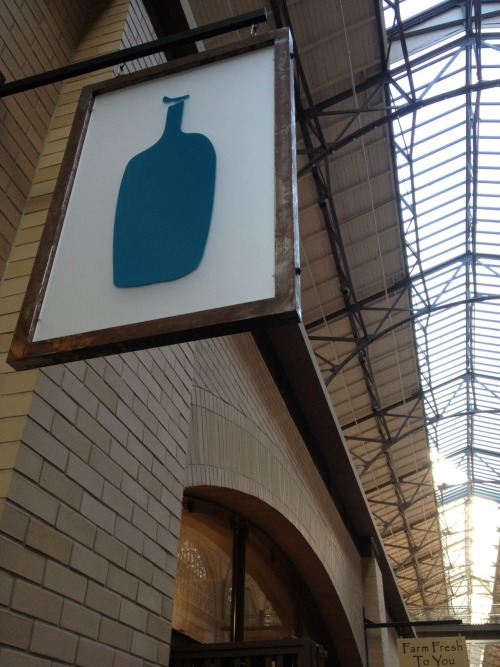 Blue Bottle Coffee. A trusty San Francisco favorite. Definitely a great way to start the day (or, night).
