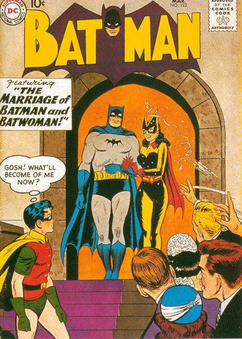 updownsmilefrown:  Vintage Batman cover