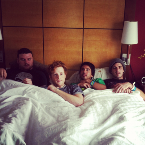 We spent the morning in bed with Fidlar.