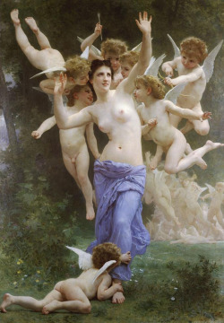 William-Adolphe Bouguereau, The Invitation (1892).