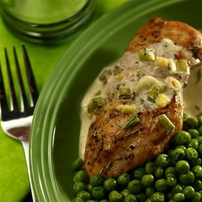 Chicken with Rosemary Sauce by PeggySneeM