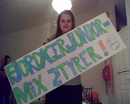 Soo, I made this banner, because some of my friends are being in this gymnastic show and I'm their number fan! :D Excited!
