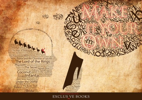 teachingliteracy:  Exclusive Books Poster Design by ~JBayMoSSie