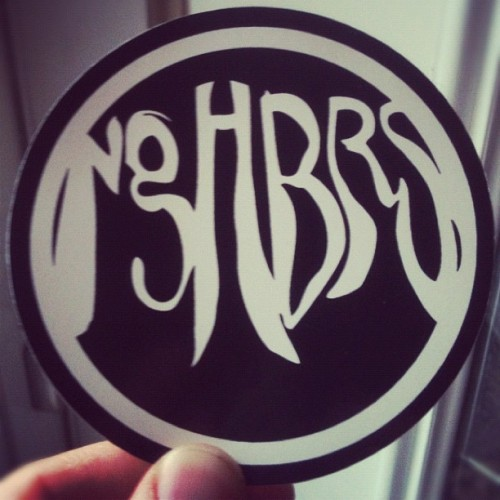 nghbrs:  New stickers! (Taken with instagram)