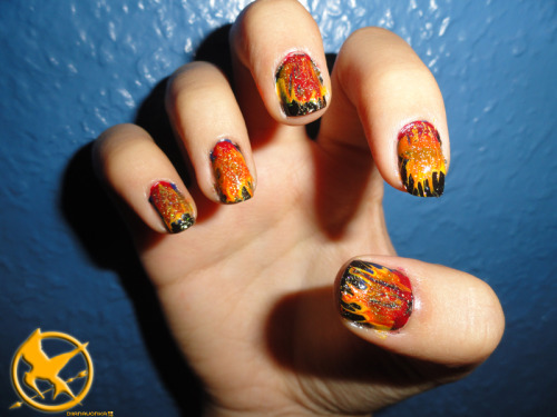 My nails are on fire!