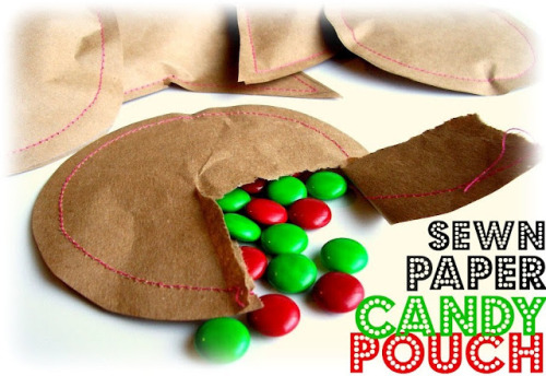 (via Peppermint Plum: {Sewn Paper Candy Pouch})
