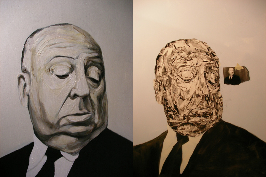 Alfred Hitchcock gets his own version in the Twin Series.