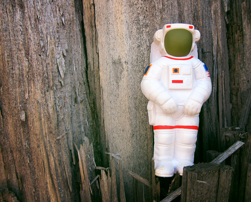 Recently found this foam astronaut, not sure where he came from but I've decided he should start exploring new worlds.