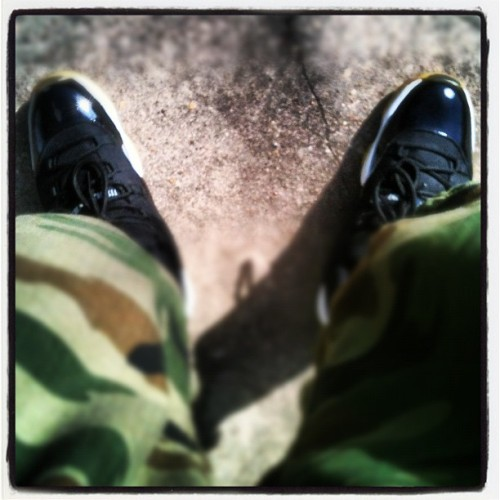 Camos and Jams #jordans (Taken with instagram)