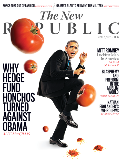 Check out TNR's newest issue, featuring Alec MacGillis on how Obama lost support from hedge funds, Jesse Zwick on Russia TV, Noam Scheiber on how Mitt Romney's opponents missed their shot on health care, and Timothy Noah's TRB column on the surprising non-embarassment that is Joe Biden.  Read TNR's Books and Arts section for Stanley Kauffmann on films and see excellent pieces by Paul Berman on blasphemy codes, Justin Driver on constitutional law, and Leon Wieseltier on fashioning force. Be sure to check out tnr.com for access to these pieces and much more!
