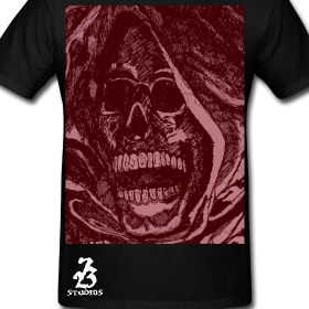 Go Get Your 723 Studios Red Reaper Tee!  This TEE features the 723 Studios Reaper India Ink Drawing in Crimson Red. $25 If you bought one please show us a pic of you wearing it and you'll receive a link to FREE 723 Studios Art!