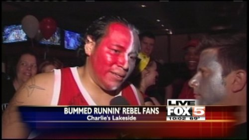 VIDEO: Rebels fans deal with tough loss UNLV lost a tough game against Colorado Thursday in the NCAA Men's Basketball Tournament. Fans in Las Vegas are dealing with the abrupt end of the Rebels season. watch video