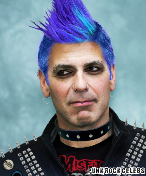 Punk Rock George Clooney