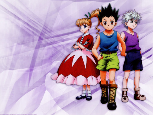 Gon, Killua and Biscuit Versión Wallpaper
