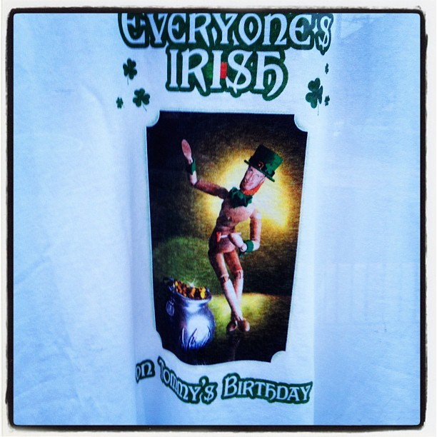 F**king Irish… (Taken with instagram)