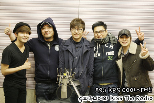 hatobrazil:  Sukira com RyeoWook & SungMin - 15.03.2012 Convidado: M4 Crédito: Super Junior Kiss The Radio Official Website (kbs.co.kr)