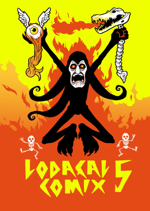 rurucomix:   LODAÇAL COMIX #5 IS OFFICIALLY OUT!!! Features comics by: Jack Teagle , Afonso Ferreira, Rudolfo, Aaron Kaneshiro, Detrocboi, Aviv Itzcovitz, Alex Schubert, Tiago Araújo, Kurokawa John, Andy Burkholder, Darin Shuler, Kris Mukai, Audrey Morris, Michael Deforge, Connor McCann, Doug Metcalfe Cover: Aviv Itzcovitz Inside Cover: Laro Lagosta  ORDER IT HERE