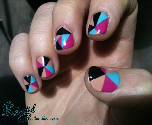 theillustratednail:  Kaleidoscope close-up…