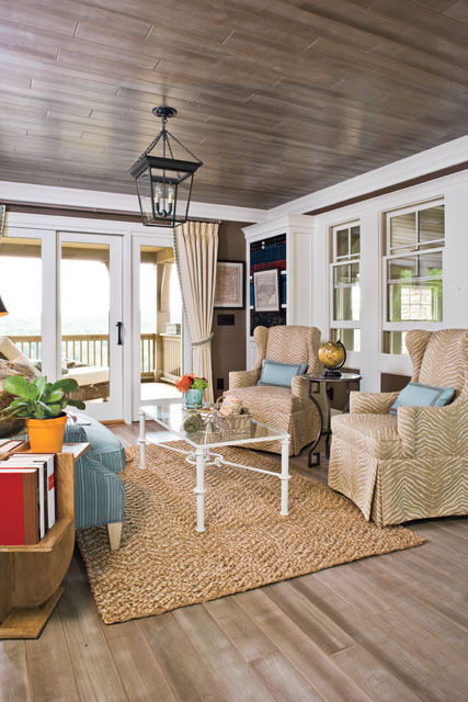 georgianadesign:  Hemlock Springs porch in Coastal Living.