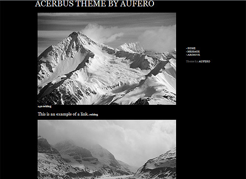 ACERBUS THEME preview | download