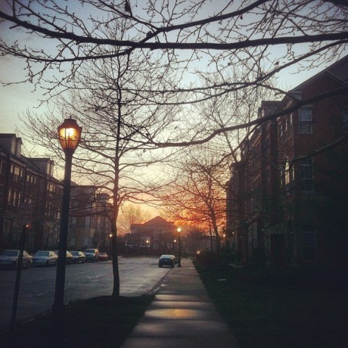Nice end to a great week!! #reston #homesweethome (Taken with instagram)