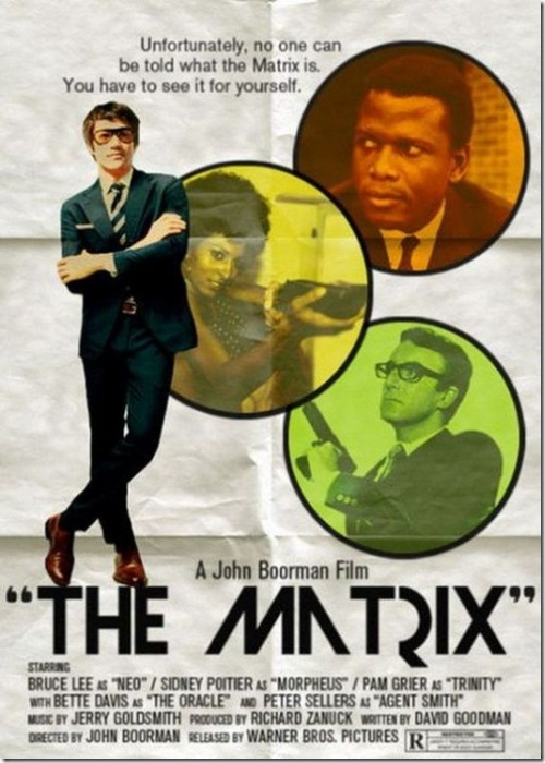 undocument:  (via MixBest » Modern Movie Posters –> 50 Years Ago)  I would own the VHS, the DVD, the Criterion, the Blu-ray and see the big screen revival at the New Beverly if this was a real thing.
