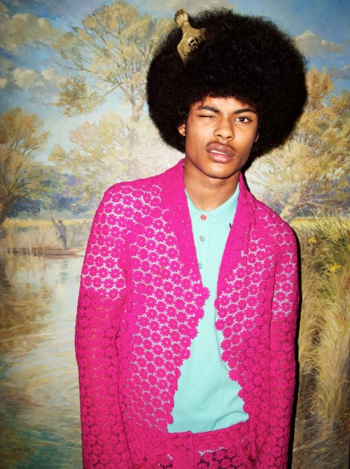 morningmode:  MEN´S FASHION i–D magazine show us some crazy colorful looks for men for Spring 2012.    Kyle Forde wearing Givenchy, Dsquared2 and Moschino (to name a few), styled by John William, photographed by Kate Bellm.  We must say he pulled it off! date 16.03.12 time 20:15