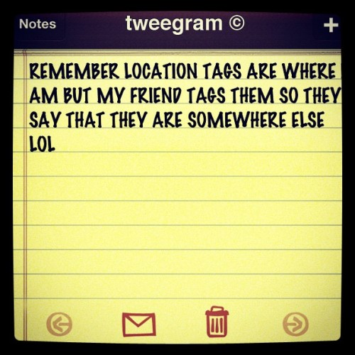 #tweegram Note About latest deleted instagram photos :/ (Taken with instagram)