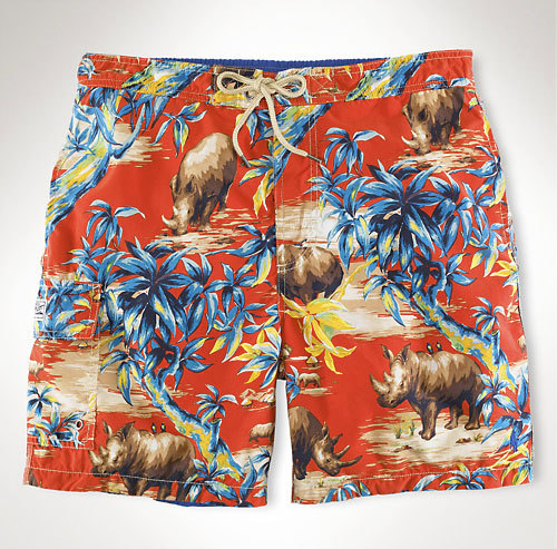 polo-tropical-rhino-print-swim-trunks