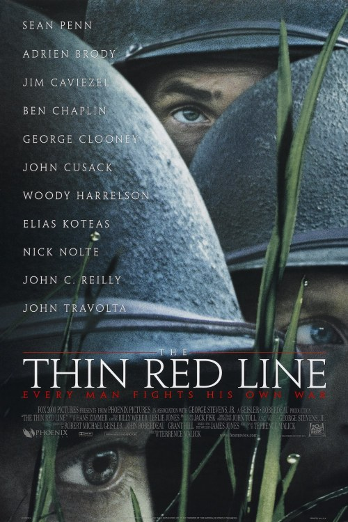 The Thin Red Line (1998) Tonight's film.