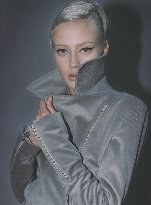 Haider Ackermann, Fall 2004