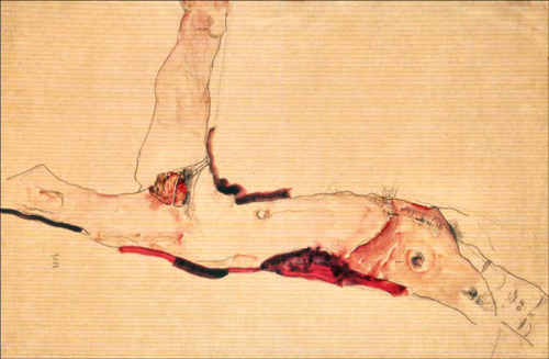 Like Egon Schiele before him, Mendieta brought his career to an inscrutable low of scrutiny and self-portrayal.