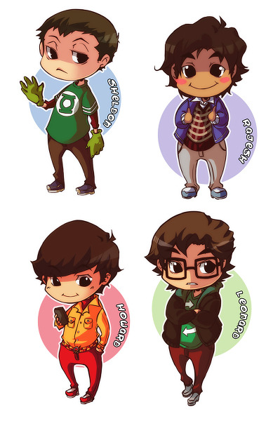 kamelineli:  The Big bang Theory | XMenouX