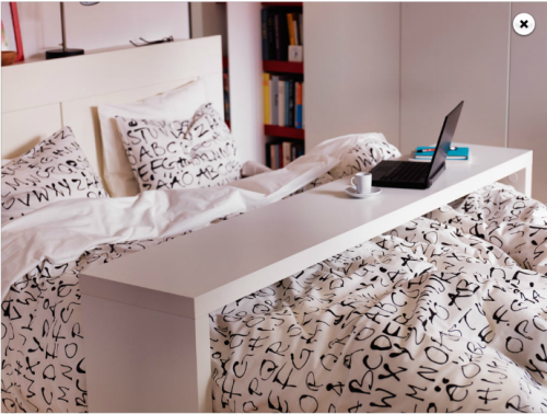 maraudingmockingjay:  sigh i want this blanket and i want this desk thing sigh