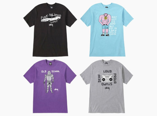 (Part 1) David Shrigley x Stussy Artist Series Tees David Shrigley, a well known artist contributes to the Stussy artist series by adding his own touch to the well known street wear. #THHS