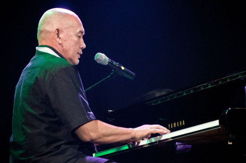 Peter F. Gonta on piano - on Java Jazz Festival 2012