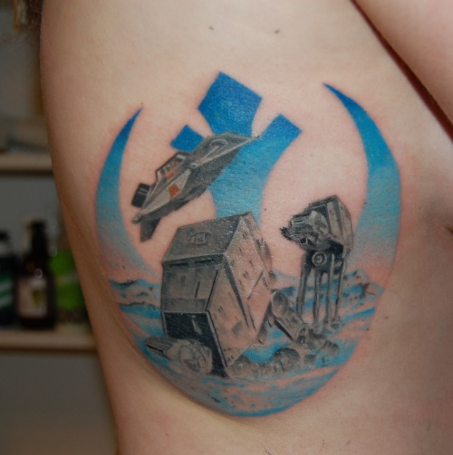 I think this is the best Rebel Alliance tattoo I have ever seen *swoon*