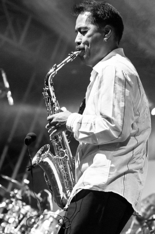 Indonesian Saxophonist on Java Jazz Festival 2012