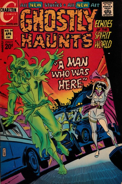 Ghostly Haunts #24 - Charlton Comics, April, 1972