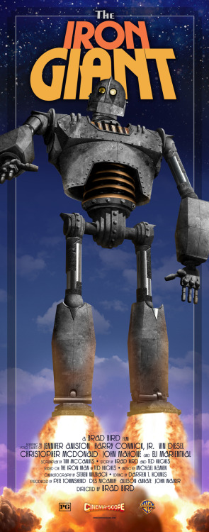 "The Iron Giant - (Insert poster 14"" x 36"")"