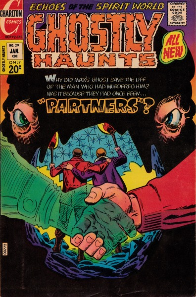 Ghostly Haunts #29 - Charlton Comics, January, 1973