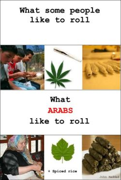 How Arabs roll