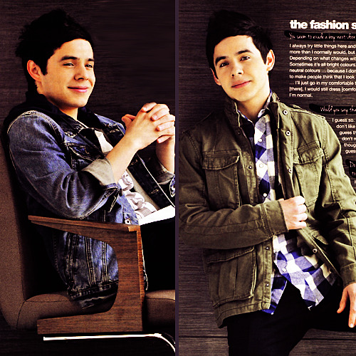 David in TEENS mag, Singapore. Thanks @Zaren89! :) | x x x