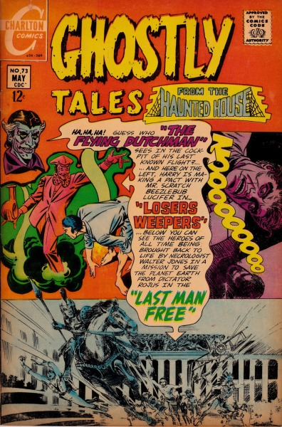 Ghostly Tales #73 - Charlton Comics, May, 1969