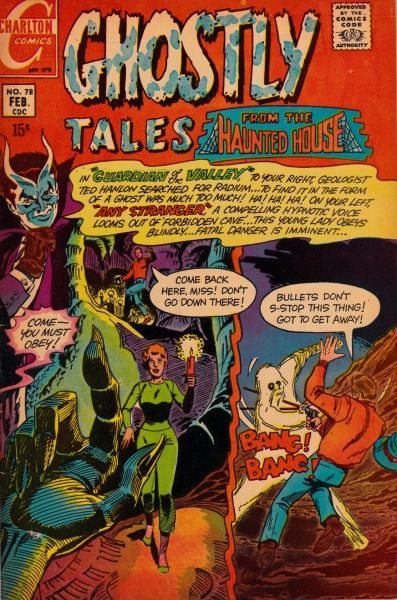 Ghostly Tales #78 - Charlton Comics, February, 1970
